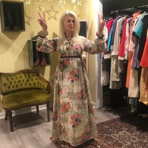 Vintage 60/70s maxi dress